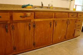 Old Kitchen Remodeling Ideas For Refinishing Old Kitchen Cabinets