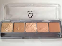 cinema secrets makeup kitcinema secrets 5 in 1 ultimate foundation palette makeup review