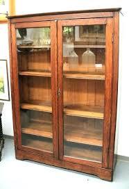 bookcases ikea glass door bookcase billy doors bookshelf with bookcases image b