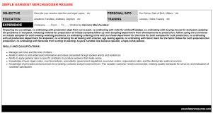 Garment Merchandiser Resume Garment Merchandiser Cover Letter Resume