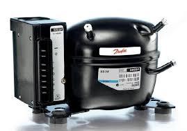 refrigerator compressor. the danfoss/secop bd35f refrigerator compressor