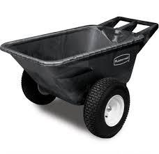 rubbermaid heavy duty garden cart