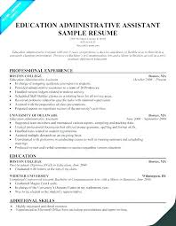 Admin Job Profile Resume Administrative Assistant Duties Resume 3 Budget Spreadsheet