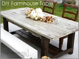diy outdoor furniture plans. Diy Outdoor Farm House Table Plans Furniture