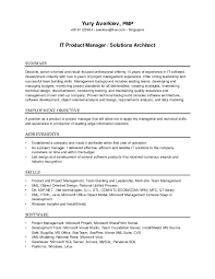 Software Architect Resume Examples Inspirational Architect Resume