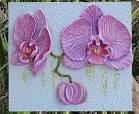 Панно с орхидеями