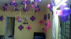 birthday balloon decorations at home