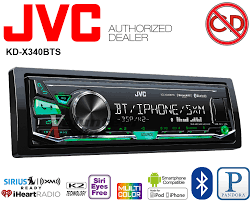 jvc car stereo jvc kd x340bts car radio stereo media player pandora ipod iheart usb aux no