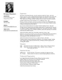 outreach worker resume