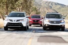 Toyota RAV4 vs Honda CR-V vs Mazda CX-5 | Compact Crossover ...