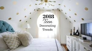 Bedroom ideas for teenage girls Cool 2018 Teen Girl Bedroom Decorating Ideas Youtube Inside Teen Bedroom Decor Ideas Nestledco Teen Bedroom Makeover Ideas Teen Bedrooms And Diy Room Decor