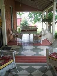 painted floor my mom suggested i paint my concrete stoops front porch rugs