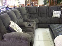 Living Room Reclining Sectional Sofas Black Sofa With Recliners