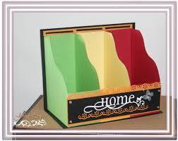 Magazine Holder Template Jinky's Crafts Designs CardMiniMagazine File Holders 70