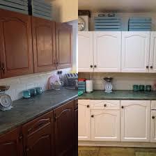 Painted Kitchen Cupboard Painted Kitchen Cupboards Rustoleum Chalk Paint Painting