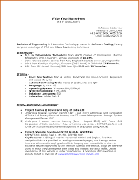 Ideas Collection Engineering Fresher Resume Sample Fantastic Fresher