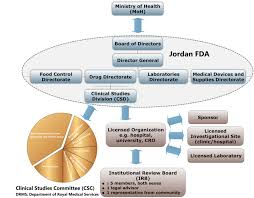 The Organizational Structure Of Jordan Fda And The