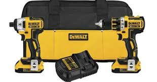 dewalt 20v compact drill. today only, amazon is offering up this dewalt 20v max xr lithium ion brushless compact drill/driver \u0026 impact driver combo kit for $179 shipped (regularly dewalt 20v drill