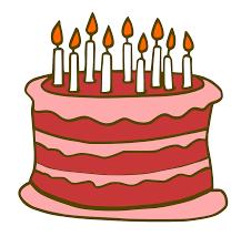 February Birthday Cakes Retro Cartoon Birthday Cake Stock Photo Image 37602080 Cartoon