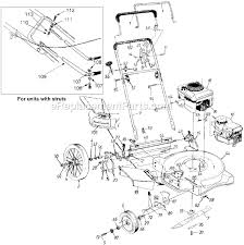 yard machine lawn mower parts. yard machines 11a-506f372 parts list and diagram - (1998) : ereplacementparts.com machine lawn mower r