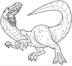 Realistic Dinosaur Coloring Pages Printable Coloring Pages For