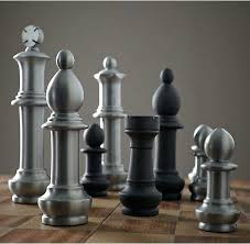 oversized chess set giant vintage chess in style and scale our vintage chess set oversized wood