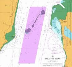 G Strait Of Tiran Marine Chart Sa_0801_7 Nautical