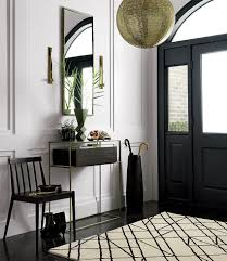 furniture entryway. A Bold Entryway Featuring Furniture From CB2 / Victoria McGinley