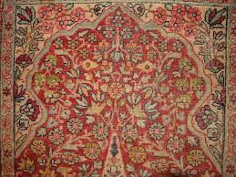1b330 persian prayer kerman lavar tree of life rug 2 x