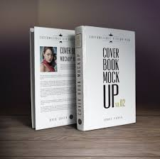 10 book cover psd mockup templates
