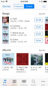 Sa Itunes Chart In Orbit Yall X X Is Topping The Itunes Kpop And Pop