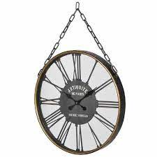 wall clocks large clock with hanging
