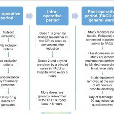 Pacu Nurse Charting Study Flow Chart Note Or Operating Room Pacu Post