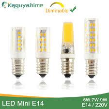 <b>Kaguyahime Dimmable</b> Mini Ceramics COB E14 <b>LED</b> Bulb Light ...