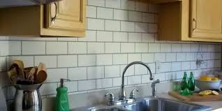 Paint Backsplash Classy Painted Subway Tile Backsplash Remodelaholic