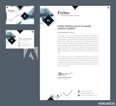Office Stationery Design Templates Stationery Template Illustrator Office Stationery Design