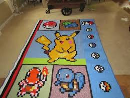 23 best Quilts for my Kids images on Pinterest | Sistema solar ... & Buy Pokemon Video Game Quilt with Pikachu Bulbasaur by McFrogling at Wish -  Shopping Made Fun Adamdwight.com