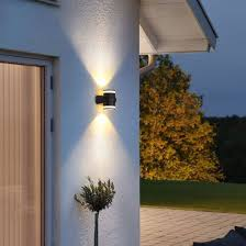 2 8w led wall light for garden outdoor