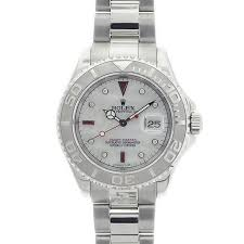 rolex clearence rolex discount limitedwatches net rolex mens yachtmaster steel platinum a custom white mother pearl diamonds and rubies dial nice model 16622 serial y year 2003