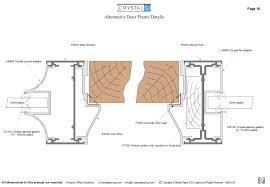 door jamb detail plan. Alternative Door Frame Details Image #1 Jamb Detail Plan O