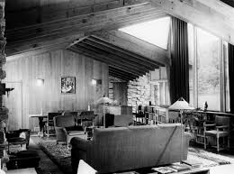 Living Room Shows Awesome The Buchbinder Residence Photograph Wisconsin Historical Society