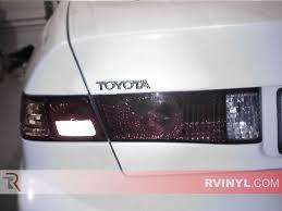 97 Toyota Camry Brake Light Rtint Toyota Camry 1997 2001 Tail Light Tint