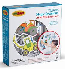 Amazon.com : Edushape Magic Creations Bath Play Set, Construction ...