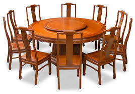 66 rosewood longevity design round dining table with 10 chairs for within idea 4