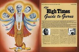 The High Times Guide to Gurus | High Times | October '77