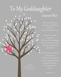 Goddaughter Quotes Inspiration GODDAUGHTER Gift Gift For Goddaughter Personalized Gift For