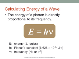 photon calculating energy of a wave recall the equation relating
