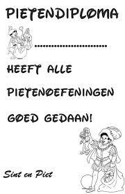 Kleurplaten Van Sinterklaas En Zwarte Piet