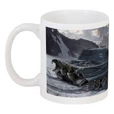 """Кружка """"PzKpfW VIB <b>Tiger</b> II World of Tanks"""" #431840 от mug-shop ..."""
