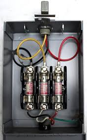 3 phase fuse box 3 wiring diagrams